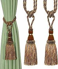 BEL AVENIR Decorative Curtain Tiebacks Handmade