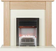 Beldray Earlesworth 2kW Electric Fire Suite - Oak