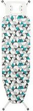 Beldray Ironing Board With Blue Geo Triangle Print