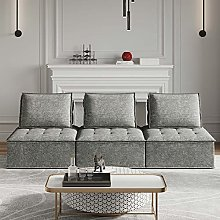 Belffin Modular 3 Seater Sofa Couch Sectional Sofa