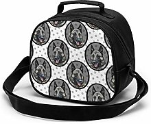 Belgian Malinois Framed Kids Lunch Bag Insulated