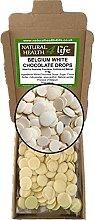 Belgium White Chocolate Drops 175g