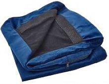 Beliani - 2 Seat Sofa Slipcover Velvet Chair