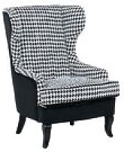 Beliani - Button Tufted Accent Armchair