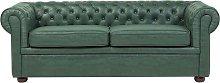 Beliani - Classic Chesterfield Sofa Button Tufted