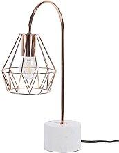 Beliani - Desk Table Bedside Lamp Light Geometric