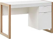Beliani - Home Office Desk 110 x 50 cm White with
