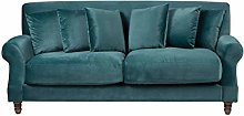 Beliani Living Room 3 Seater Sofa Couch Vintage