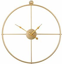 Beliani Minimalist Elegant Round Slim Gold Wall