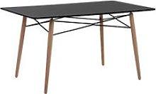 Beliani - Minimalist Wooden Dining Table Kitchen