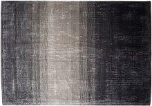 Beliani - Modern Area Rug Viscose Living Room Grey