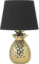 Beliani - Modern Bedside Lamp Light with Black