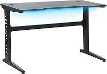 Beliani - Modern Gaming Desk with RGB LED Light