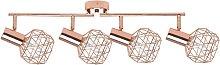 Beliani - Modern Geometric Ceiling Lamp Track