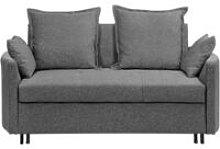 Beliani - Modern Grey 2 Seater Sofa Bed Sleeping