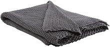 Beliani - Modern Knitted Cross Catch Stitch Cotton