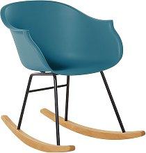 Beliani - Modern Scandinavian Rocking Chair