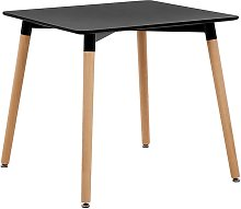 Beliani - Modern Wooden Dining Table Kitchen
