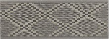 Beliani - Outdoor Rug 60 x 105 cm Jacquard Woven