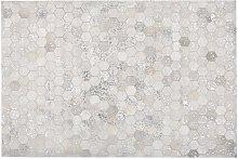 Beliani - Rug Patchwork Hexagons 140 x 200 cm