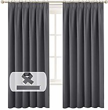 BellaHills Blackout Curtain Panels - 2 Pieces