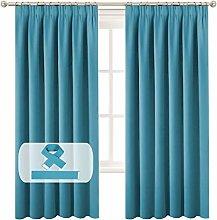 BellaHills Blackout Curtain Panels for Bedroom,