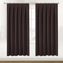 BellaHills Blackout Room Darkening Curtains Window