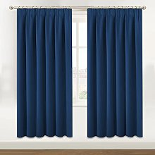 BellaHills Blackout Window Curtain Panels, Heat