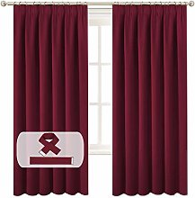 BellaHills Decorative Curtain Panels - 72 Inch