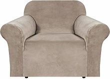BellaHills Real Velvet Stretch Sofa Covers Couch