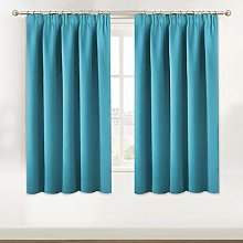 BellaHills Short Blackout Curtain - Privacy Room