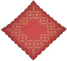 Bellanda Table Runner, Polyester, Dark red, 60x60
