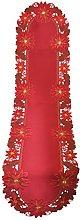 Bellanda Table Runner, Polyester, red, 40x160 cm