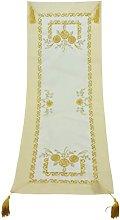 Bellanda Table Runner, Polyester, Sekt, 110 x 40 x
