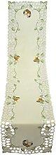 Bellanda Table Runner, Polyester, Sekt, 160 x 40 x