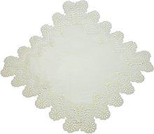 Bellanda Table Runner, Polyester, Sekt, 60 x 60 x