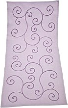 Bellanda Table Runner, Polyester, Violett, 85 x 40