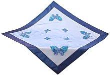 Bellanda Tablecloth, Blue, 85 x 85 x 0.5 cm