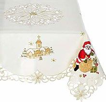 Bellanda Tablecloth, Polyester, Beige, 110 x 110 x