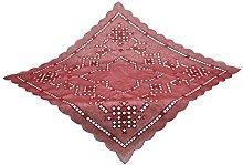 Bellanda Tablecloth, Polyester, Bordeaux red, 85 x