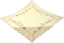 Bellanda Tablecloth, Polyester, Light Brown, 85 x