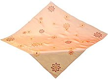 Bellanda Tablecloth, Polyester, Orange, 110 x 110