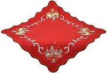 Bellanda Tablecloth, Polyester, red, 85 x 85 x 0.5