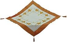 Bellanda Tablecloth, Polyester, Sekt/Orange, 110 x