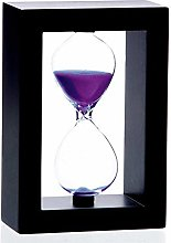 Bellaware Hourglass Timer, 60 Minutes Wooden Sand