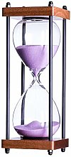 Bellaware Large Hourglass Timer, 30 Minutes Wooden