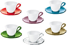 BELLE EPOQUE SET OF 6 COFFEE CUPS