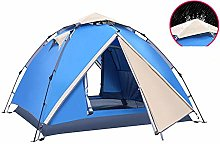 Belleashy Camping Tent Automatic Family Sun Tent