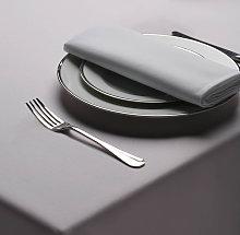 Belledorm Amalfi Medrite Grey Table Linen