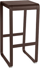 Bellevie High stool - H 75 cm / Aluminium by